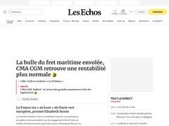 Journal quotidien économique et financier - Les Echos.fr