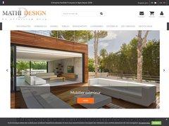 Détails : Mobilier decoration design : MathiDesign, vente mobilier design pas cher, design exterieur et beton