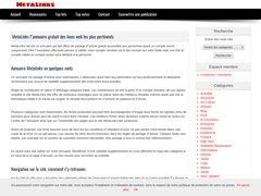 Metalinks, annuaire gratuit simplifié