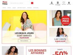 Prêt-à-porter femme et homme à prix réduit : Modavilona