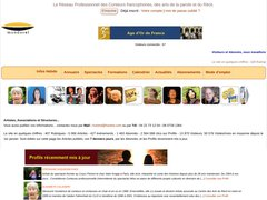 Compagnie l'Ilot Z - Léa Garcia, Conteuse - Site Mondoral : portail du Conte et des Arts de la Parole.