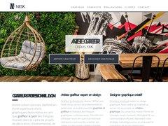 Détails : graffeur professionnel pour décoration
