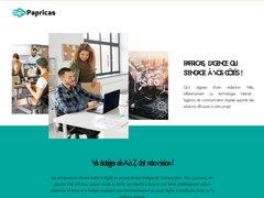 Papricas - agence de référencement