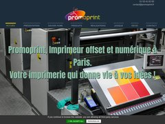 Détails : Promoprint, imprimerie à Paris