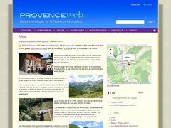 Allos - Provence web