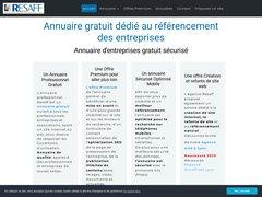 Détails : Agence de Référencement - Annuaire professionnel - Expert référencement Google - Resaff