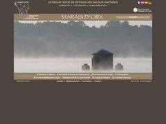 Réserve naturelle Marais d'Orx - Landes - 40