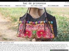Détails : sac de Princesse