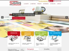 Détails : Spécialiste de la sérigraphie, de l'impression numérique et du marquage publicitaire en Vendée et Loire Altantique