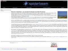 Spiderbeam© High Performance Lightweight Antennas