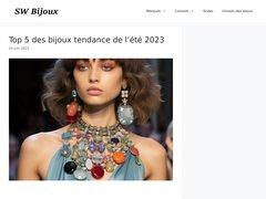 Détails : SW Bijoux : Bijoux fantaisie.