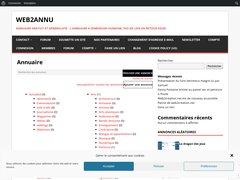 Détails : Web2annu
