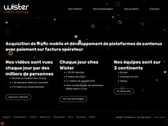 Détails : Wister - Mobile Affiliate Network