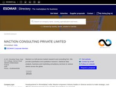 Maction Consulting Pvt Ltd