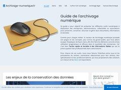 Détails : Conserver vos documents numériques