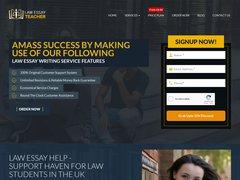 Law Essay Teacher