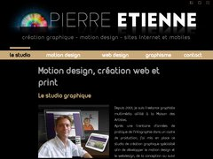 Détails : Pierre ETIENNE, création graphique, motion design, sites Internet