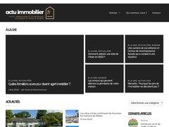 actualité du marché de l'immobilier sur actuimmobilier.fr