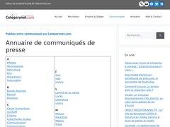 actualité du marché de l'immobilier sur communiques.categorynet.com