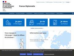 avis diplomatie.gouv.fr