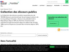 actualité du marché de l'immobilier sur discours.vie-publique.fr