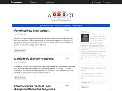 Détails : Blog France Télévision sur les addictions