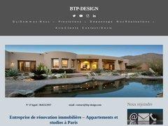 Société de rénovation appartement ,maison,bureau et studio à Paris
