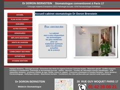 Dr Doron BERNSTEIN Stomatologue conventionné Paris 17