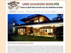 Détails : Maison en bois poteaux poutres