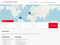 4 PIECES ET PLUS recrute des Conseillers Immobiliers sur Paris avec une 1ère expérience réussie - Statut salarié ou Agent