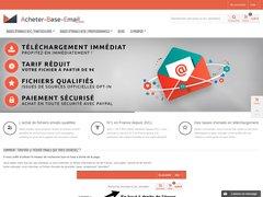 Détails : fichier email france