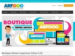 Détails : Themes Arfooo et templates Arfooo Responsive
