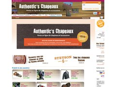 Code promo Authentics Chapeaux