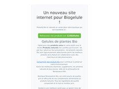 Détails : Vente en ligne de produits bio et naturels