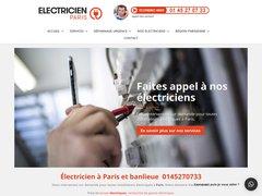 Électricien Paris rapide et efficace