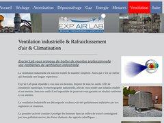 Exp'air Lab ventilation industrielle
