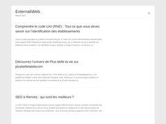Détails : externalisation web