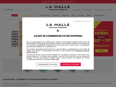 top brands sale retailer free shipping la halle chaussures code promo
