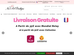 Code promo Nail Art Boutique