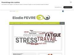 Elodie Fèvre, psychologue à Voreppe en Isère