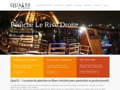 Détails : Location péniches et diner croisière sur la seine