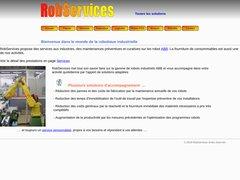 RobServices EI, prestations en robotique industrielle