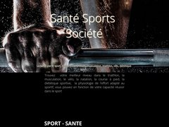 La Santé par le Sport , Santé sports société