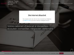 Cabinet TOURE Mohamed El Moctar, Cabinet d'avocats à Versailles