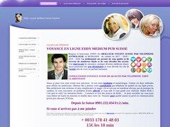 Eddy médium pur, voyance Suisse de grande qualité, Maître reiki, sophrologue,