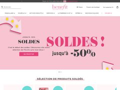 Benefit Cosmetics Coupons et codes promo