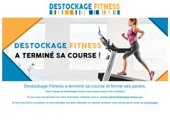Code promo Destockage Fitness