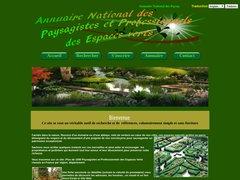 Annuaire France des Paysagistes et Professionnels des Espaces Verts