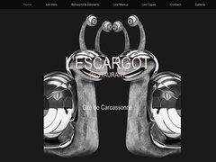 Restaurant l'Escargot - Cité de Carcassonne - Bar à Tapas - Bar à Vins - Menu du jour 6 Spécialités Tapas dans la Cité de Carcassonne.