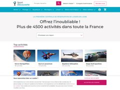 Code promo Sport Decouverte